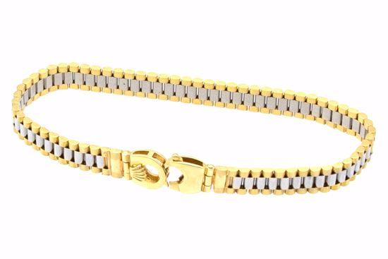 moda de lujo estilo único envio GRATIS a todo el mundo PULSERA TIPO ROLEX 14K ORO 21.400 G NUEV