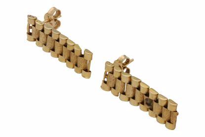 BROQUEL TIPO ROLEX 14K ORO 3.9 GRAMOS