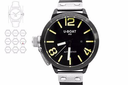 RELOJ PARA CABALLERO U-BOAT, MODELO U-53